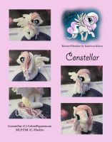 Knitted Plushies - Constellar (OC) by haselwoelfchen