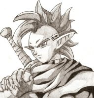 Tapion and His Ocarina by MasterofCeremonies