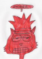 Hector - red with anger by dth1971