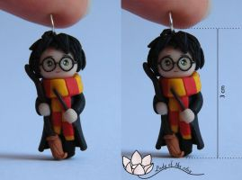 Harry Potter by ladyoftheclay