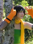 Yuffie - Over there by SoraPaopu