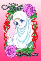 Hijab, A Liberating Choice by Nayzak