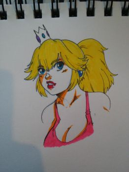 Princess Peach by FactionFighter