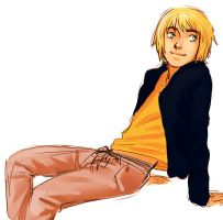 Armin In Comfy Clothes by Jazzie560