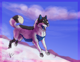 I wish I could Ski by ZabbyTabby