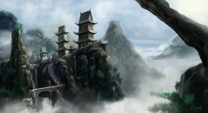 mountain by chuenguan