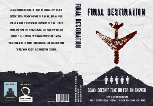 Final Destination Book Cover by chadpowell