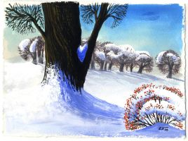 Winter card III by 13Mirror