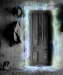 What lies Beyond the door by JadePixi