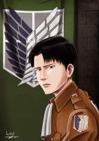 survey corps Levi by Spring-O