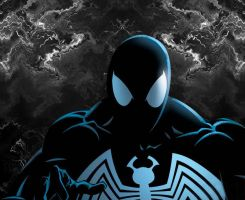 Symbiote Spiderman by Roy-Is-Azn