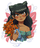 Event 3: Tigerlily by choco-java
