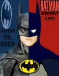 Batman 89 and animated comic print pop art by TheGreatDevin