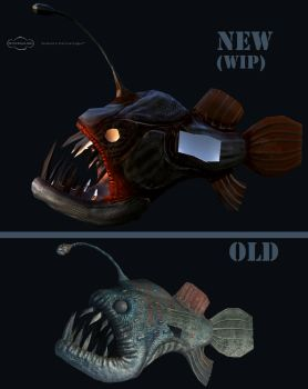 WIP : Angler Fish Reworked by Naruto-De