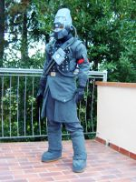 Helghast tactician cosplay 2 by 14th-division