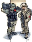 Beachhead and Dusty by AdamWithers