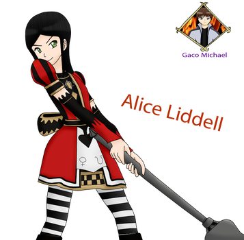 Alice Liddell by Gaco Michael by GacoMichael