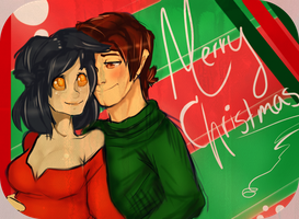 Merry Christmas from SeranAug by ForgetMorals