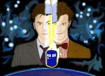 Doctor Who: Ten and Eleven by ddbabygirl13
