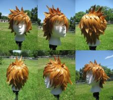 Roxas Wig Commission by xHee-Heex
