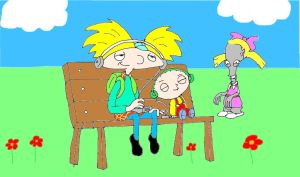 Stewie and Arnold and roger by naniloke