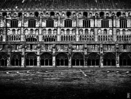 Cathedral Cloister by nouvellecreation