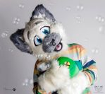 Bubbly Kitty Cat by FurryFursuitMaker