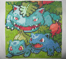 Bulbasaur Evolution Chain by Brityboo