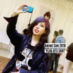 A BTS- shot of me making Vlog of AnimeCon 2016 by lovefreek