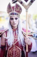 World of Warcraft - Sally Whitemane cosplay by Drawbella
