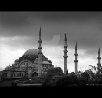 Imperial Suleymaniye Mosque by VicomtedeValmont