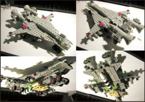 Lego Spaceship by Frohickey