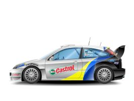 Ford Focus WRC 2003 - Side by j-s-n