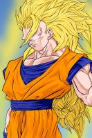 Goku Super Sayan 3 by DannyFCool