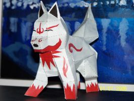 Fox Dog Wolf? papercraft pic1 by Draco3013