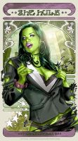 SHE-HULK by J-Estacado