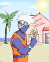 Kame No Kakashi by TheFresco