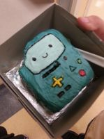 BMO cake by GingerBreadKitten