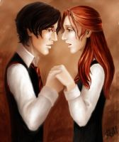 James and Lily. by Rhysenn-M
