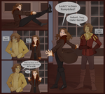 Rumbelle- Wearing eachothers' clothes by AngelQueen13