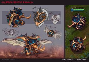 Guardian of the Sands Rammus - KNKL Concepts by Knockwurst