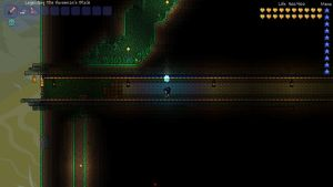 Chasm Escape/Shortcut Tunnel by Epicsunrise