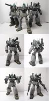 White Dingo Project part 8- Mobile Suits Complete! by Blayaden
