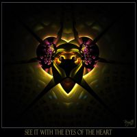 The Eyes Of The Heart by Brigitte-Fredensborg