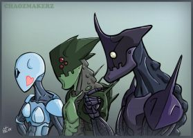 ChaozMakers by PersonalAtheist by Robot-drawing-club