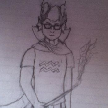 eridan sketch by nikoliabelinski