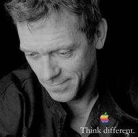 Think Different Hugh Laurie by iBrainiac