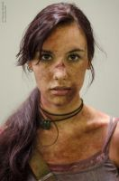 Lara Croft REBORN - Igromir'12 by TanyaCroft