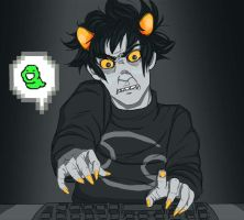 UNORIGINAL KARKAT PICTURE by Vasheren