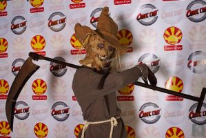 Scarecrow Cosplay P2 by Boredman